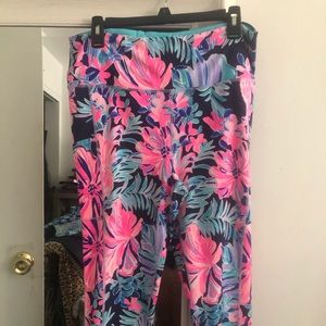 XL Lilly Pulitzer high rise  leggings